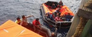 Evergreen Vessel in Seafarer Rescue