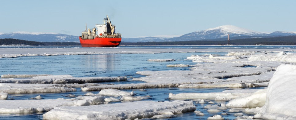 Icebreaking is important to carriers of shipments of export cargo and import cargo in international trade.