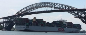 Port of NYNJ Welcomes First 13,000-TEU Vessel