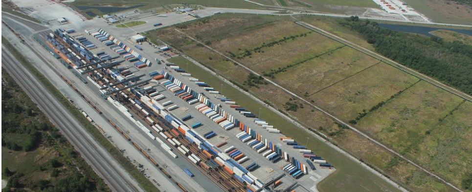 Polk County, Florida, boasts abundant infrastructure for shipments of export cargo and import cargo in international trade.