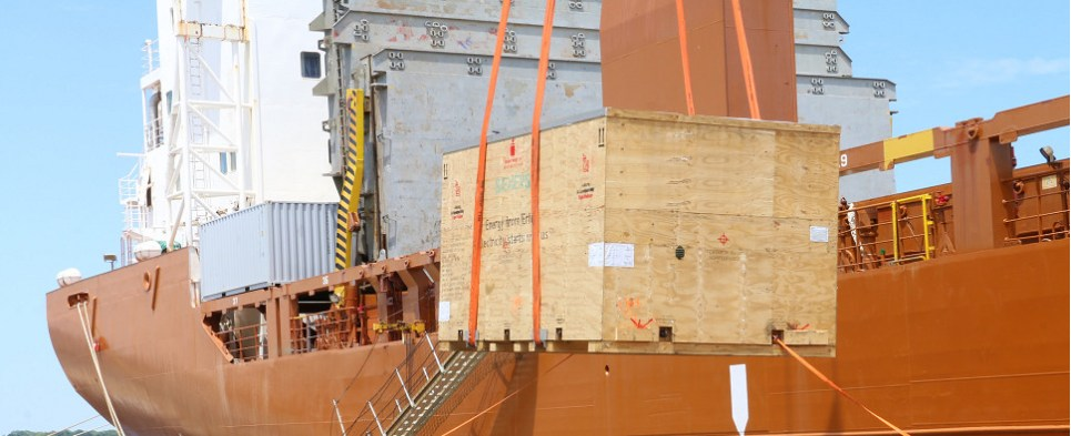 Jaxport handles project shipments of export cargo and import cargo in international trade.