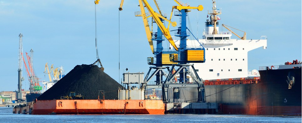 Contract will generate coal shipments of export cargo and import cargo in international trade.