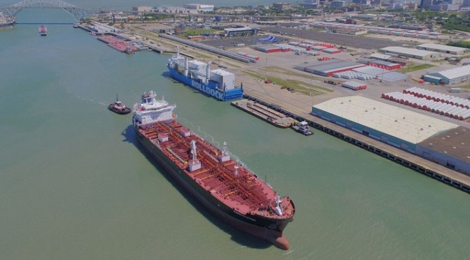 Expansion will allow port to handle more shipments of export cargo and import cargo in international trade.