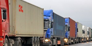Highway deterioration slows shipments of export cargo and import cargo in international trade.