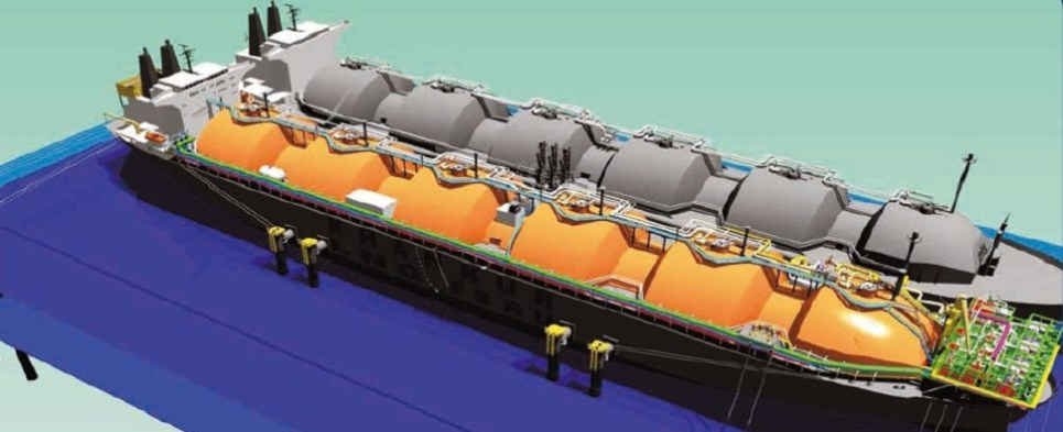 Twelve emerging markets have absorbed many gas shipments of export cargo and import cargo in international trade.