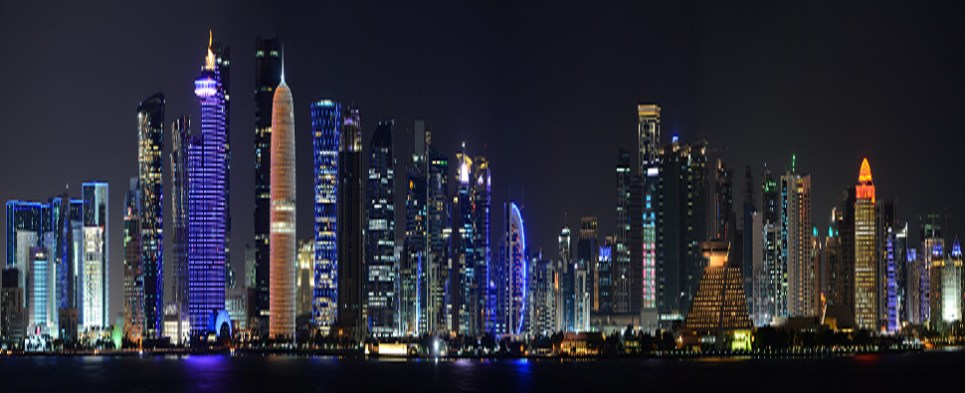 Four countries imposed embargo on Qatar of shipments of export cargo and import cargo in international trade.