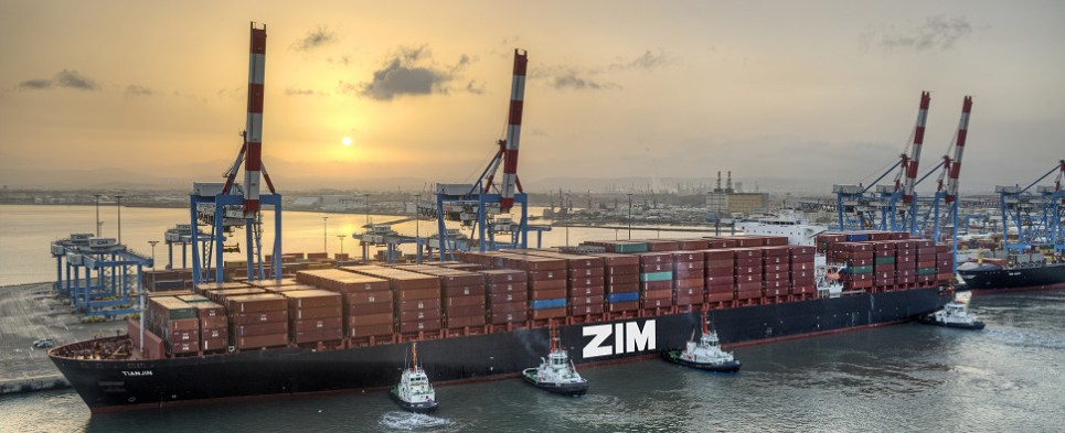 Zim piloted blockchain technology to process shipments of export cargo and import cargo in international trade.
