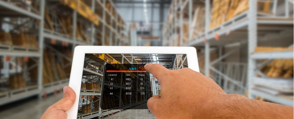 Using augmented reality to manage shipments of export cargo and import cargo in international trade.