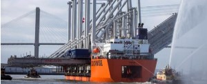 Four More Neopanamax Cranes Arrive at Port of Savannah