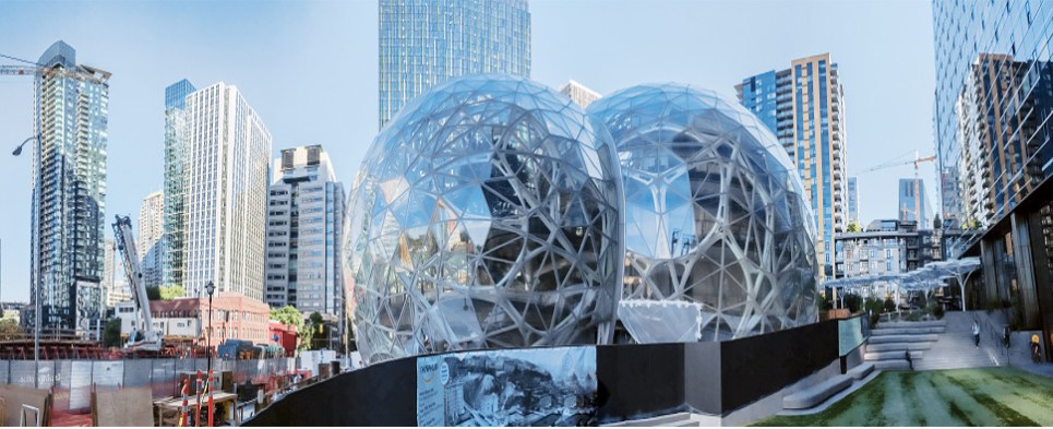 Considerations for the second headquarters for Amazon, a company with shipments of export cargo and import cargo in international trade.