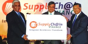 Indian bank finances supply chains of shipments of export cargo and import cargo in international trade.
