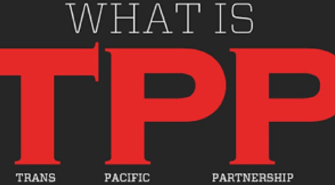 New TPP would govern shipments of export cargo and import cargo in international trade among the remaining 11 nations.