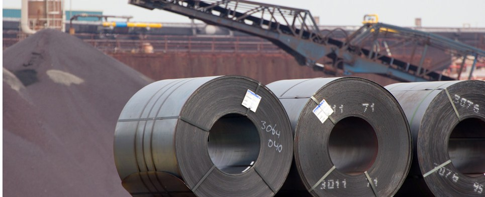 Steel industry wants protection against shipments of export cargo and import cargo in international trade.