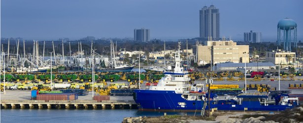Texas ports are handling more shipments of export cargo and import cargo in international trade.