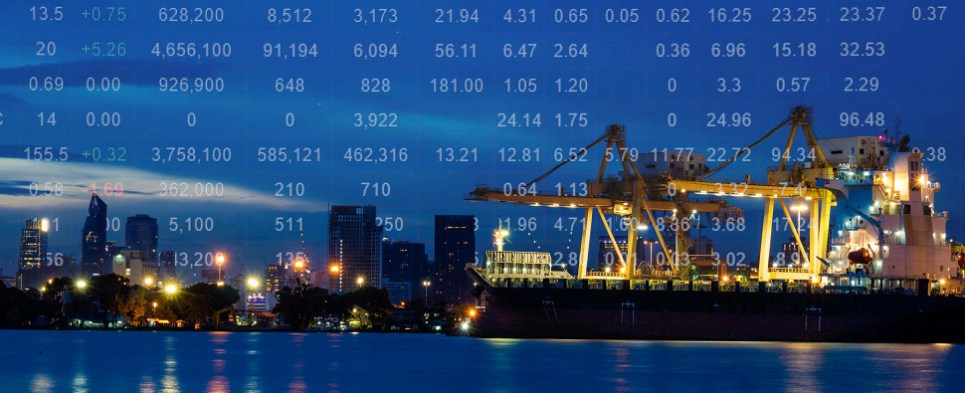 Credit and insurance finance shipments of export cargo and import cargo in international trade.