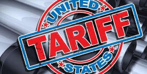 Trump has imposed tariffs on steel and aluminum shipments of export cargo and import cargo in international trade.