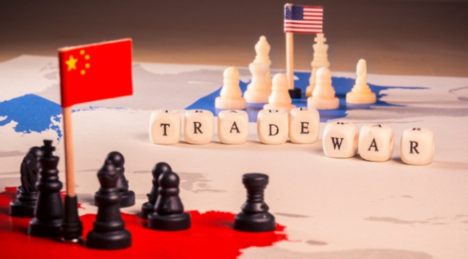 Trump has imposed tariffs on Chinese shipments of export cargo and import cargo in international trade.