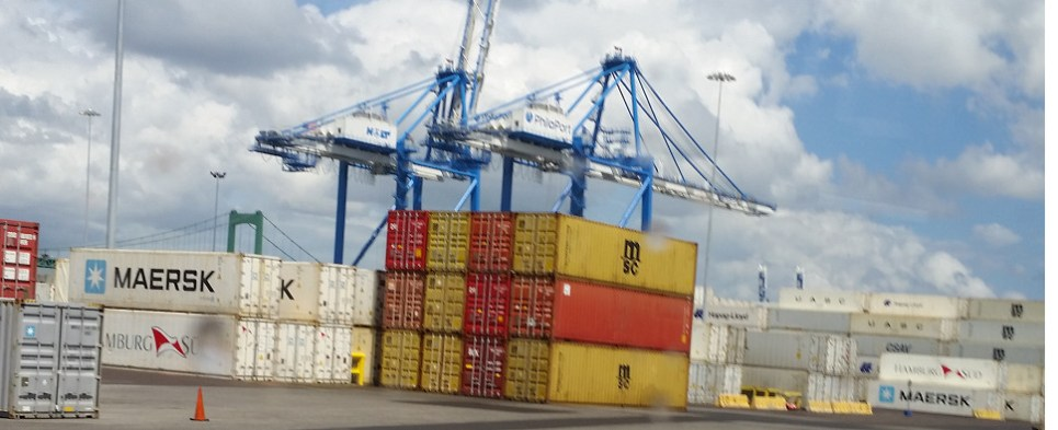Infrastructure improvements will allow ports to handle more shipments of export cargo and import cargo in international trade.