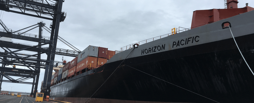 Deliveries of shipments of export cargo and import cargo in international trade resume to Hawaii ports.