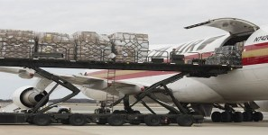Airlines carry shipments of export cargo and import cargo in international trade.