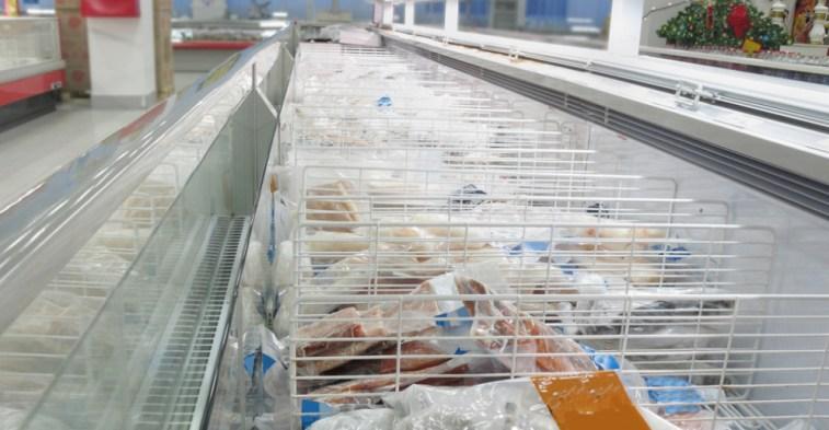 frozen crustacean