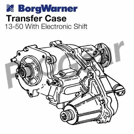 Rebuilt Borg Warner Transfer Cases and Replacement Parts