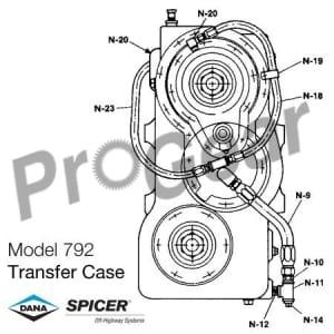 Rebuilt Spicer Transfer Case, Replacement Parts & Rebult Kits