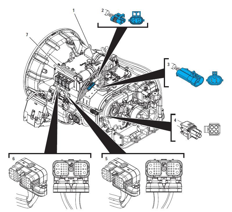 Eaton Fuller Hybrid Transmission Fault Code 63 Gear Motor