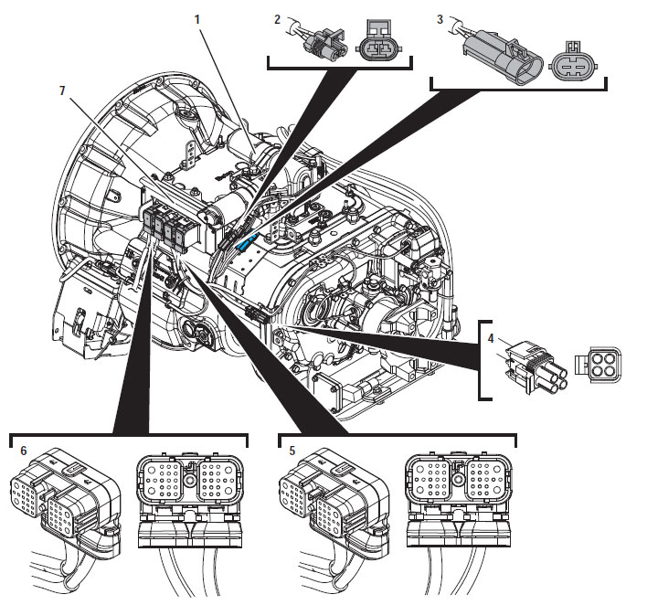 Allison transmission shifter wiring diagram