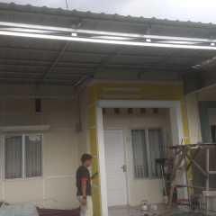 Harga Kanopi Baja Ringan Atap Spandek Kota Padang Globaltukang Com