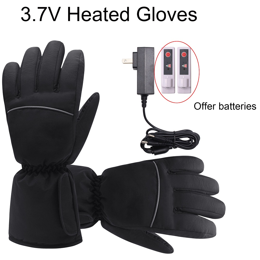 medium resolution of  3 7v heated gloves with rechargeable battery winter warm heating gloves cold weather hikking skiing