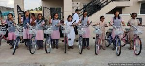 Read more about the article Bicycles for Students in India