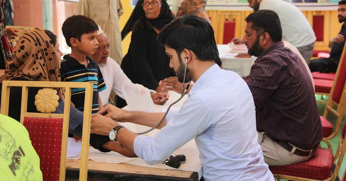 NLC sets up free medical camp at Torkham