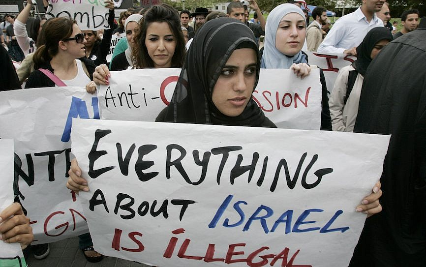 "Writing ""Israel"" In Quotation Marks Is A Peaceful Form Of Pro-Semitic Protest"