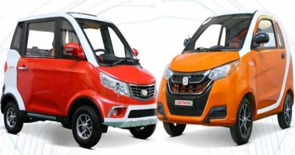 Affordable Crown Electric Cars Introduced In Pakistan