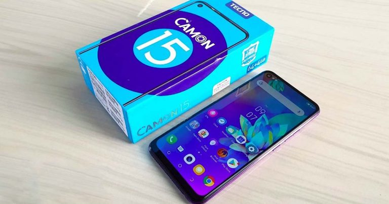 Tecno Camon 15 Full Specifications and Price in Nigeria