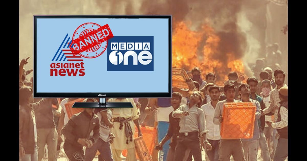 India bans channels