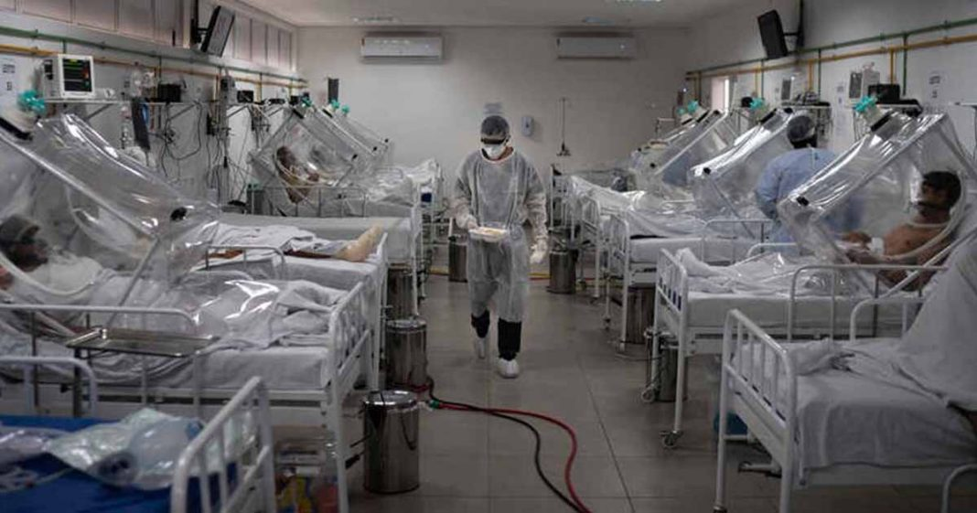 US donates ventilators