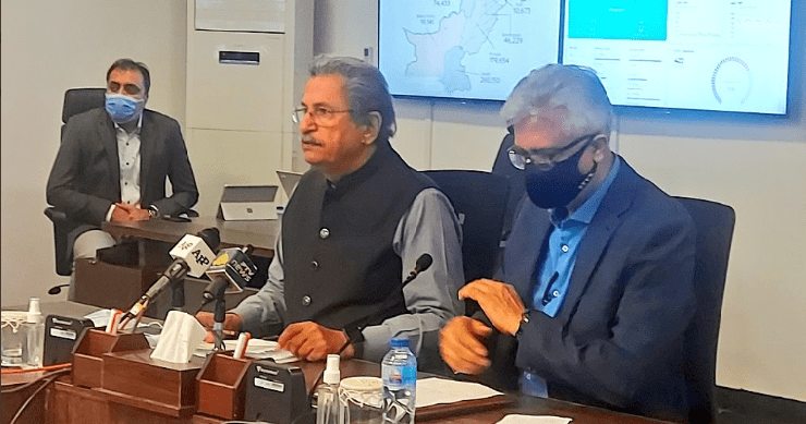 Examinations to be held on schedule in Pakistan: Shafqat Mehmood