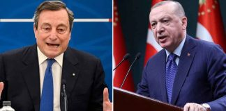 Draghi call Erdogan dictator