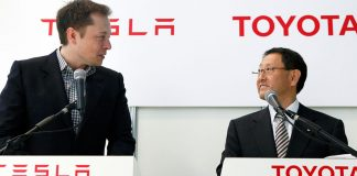 Tesla Toyota Partnership