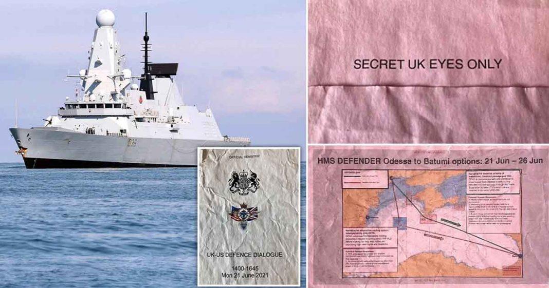 Secret UK defense documents
