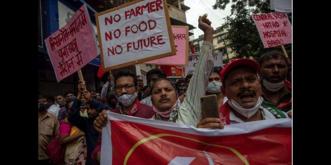 Proteste indischer Bauern