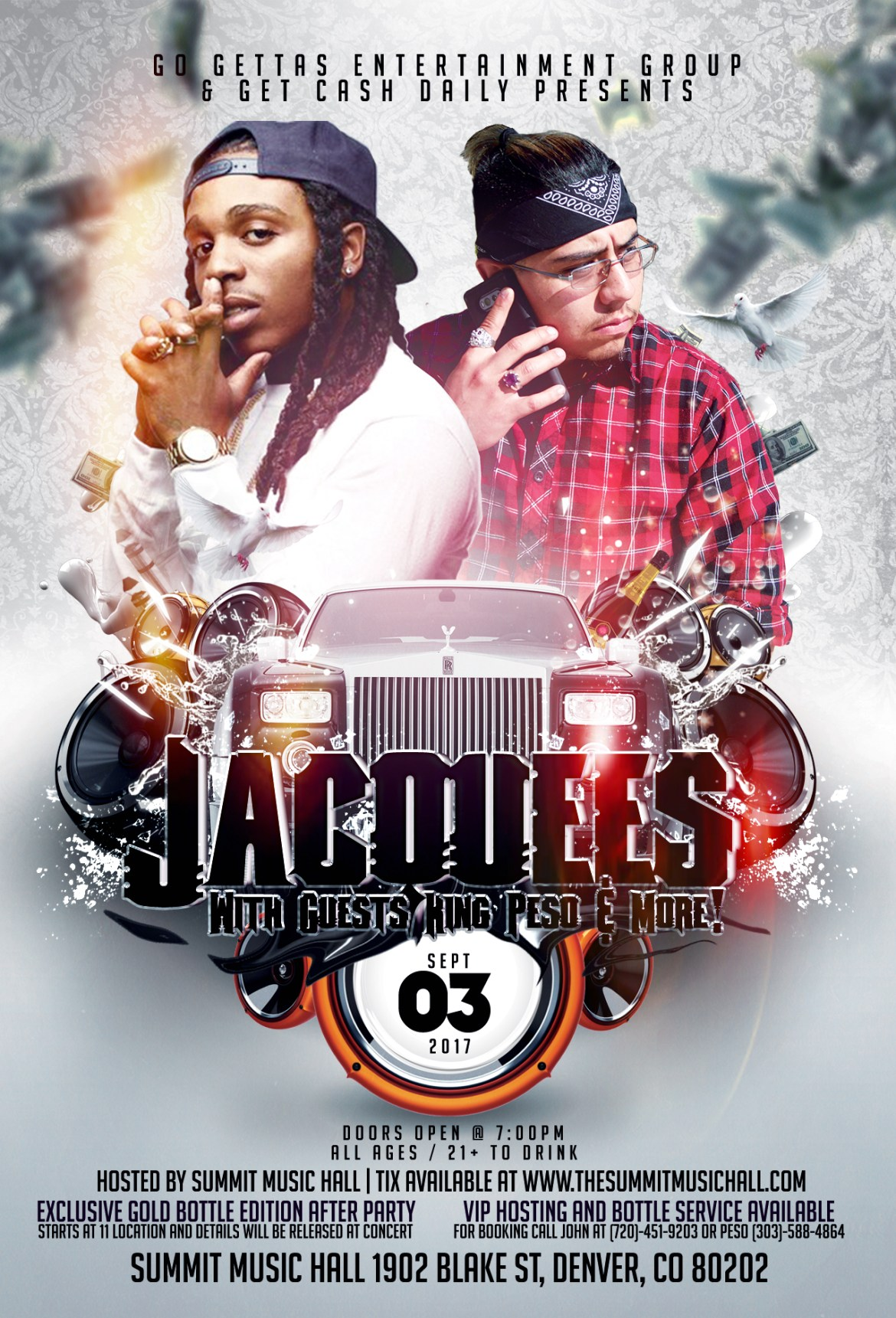 Jacquees Flyer