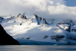 Volcanic activity is a factor in thinning ice on the Pine Island glacier