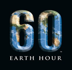 On Saturday, March 28 at 8:30PM, turn off your lights and vote for the earth