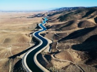 Water on its way to southern California. How can we reduce water use in commercial buildings?