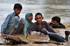 Devastated Pakistanis dealing with extreme flooding