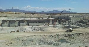 Construction of the Grand Ethiopian Renaissance Dam © Wondwosen Seide
