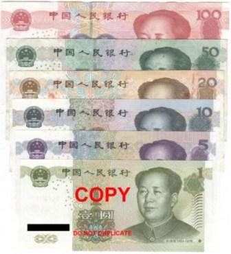 Chinese Yuan v Euro